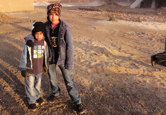Meninos egípcios