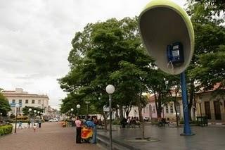 Orelhão gigante de Itu Roteiro dos Bandeirantes: conhecendo as estradas que criaram o Brasil de hoje