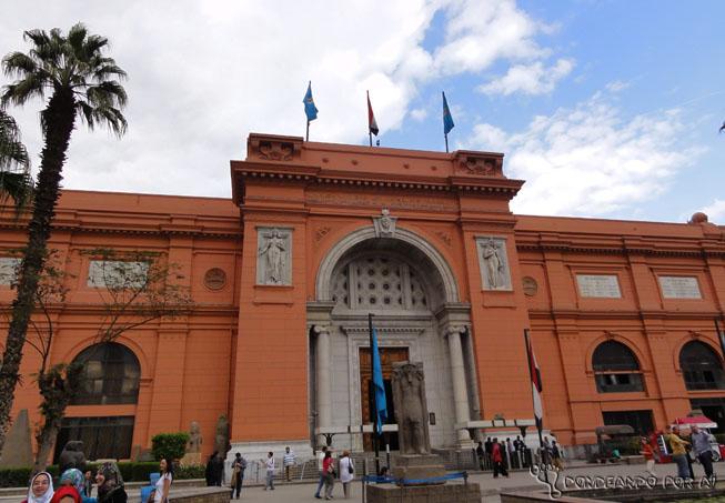 Museu do Cairo fachada