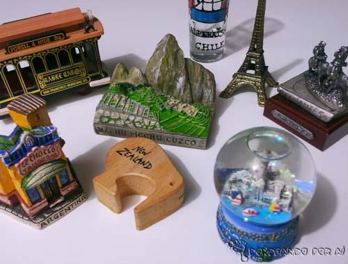 Lembrancinhas de Viagem Hobby de viajante: Souvenirs e Lembranças de Viagem. Você coleciona?