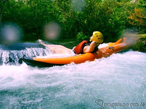 Trecho do Rio Claro na Chapada dos Guimarães Duck: aventura, ecoturismo e esporte nos rios da Chapada dos Guimarães
