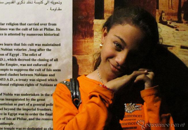 menina egípcia