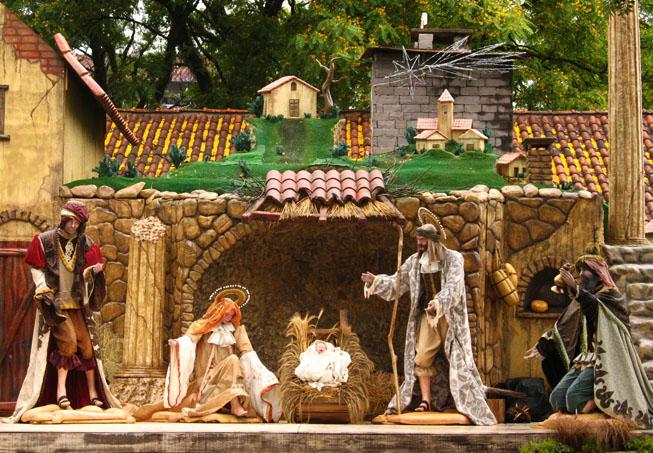 Presépio Centro de Gramado Natal Luz em Gramado: todas as dicas (e alguns alertas) quando estiver lá com as crianças!