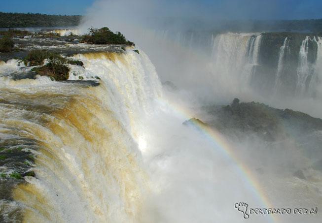 Cataratas foz arco iris