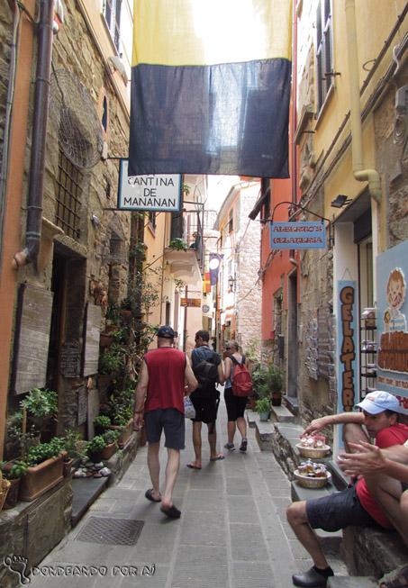 Corniglia rua
