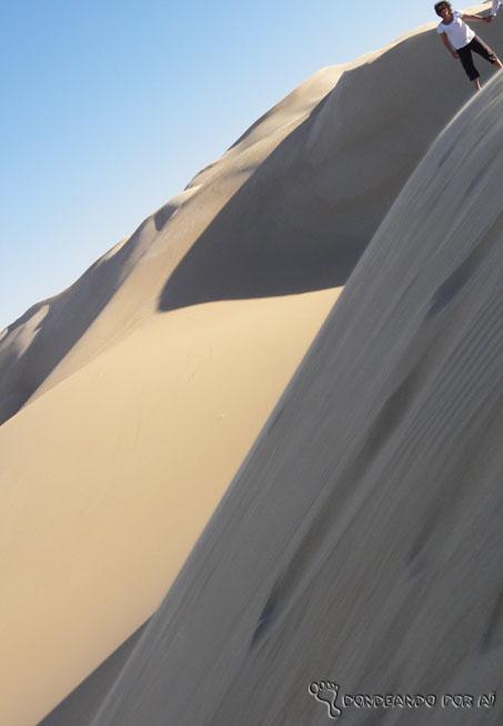 Duna sandboard sahara
