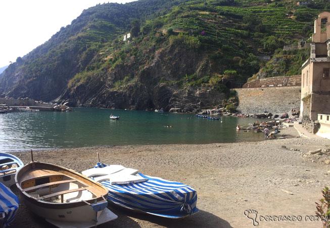 Praia principal Vernazza