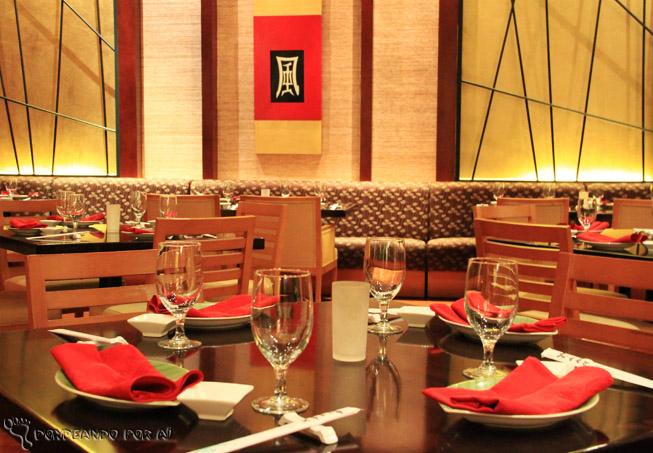 Restaurante japonês cancun