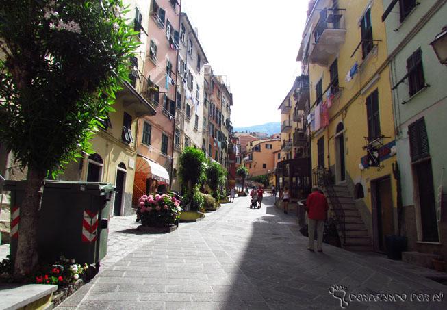 Ruas de Riomaggiore