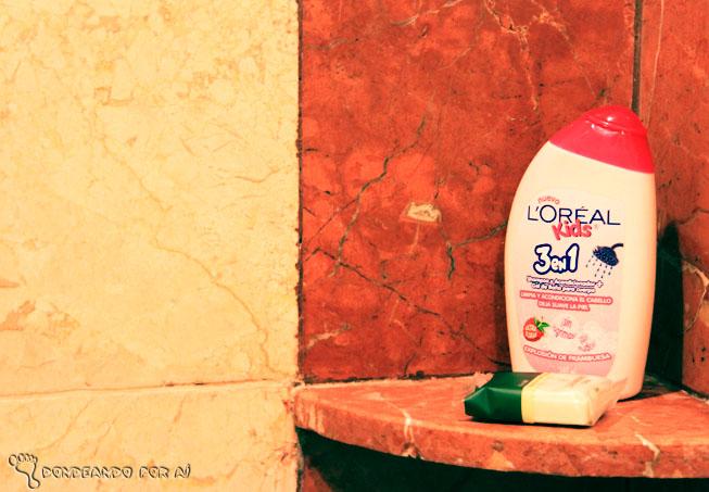 Shampoo infantil cancun banheiro quarto kids