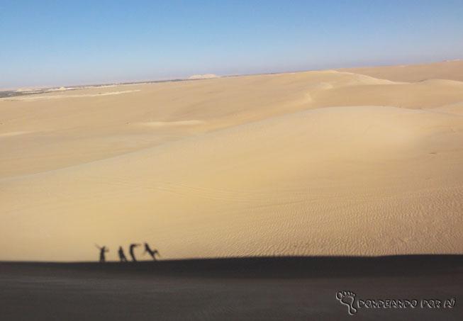 deserto sombras saara
