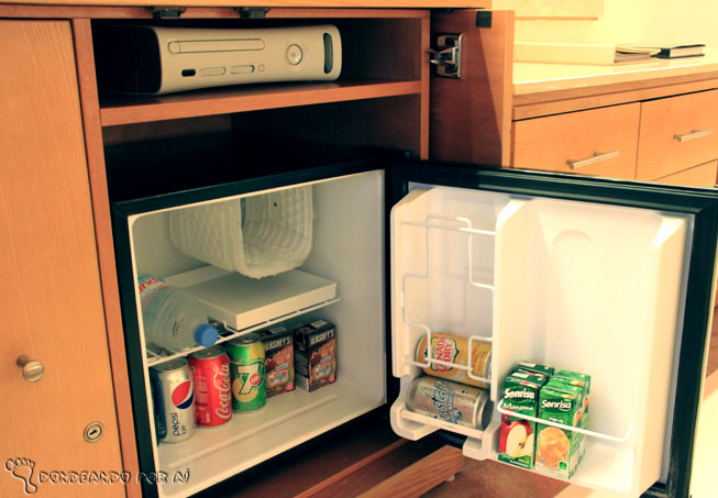 geladeira quarto kids hotel cancun