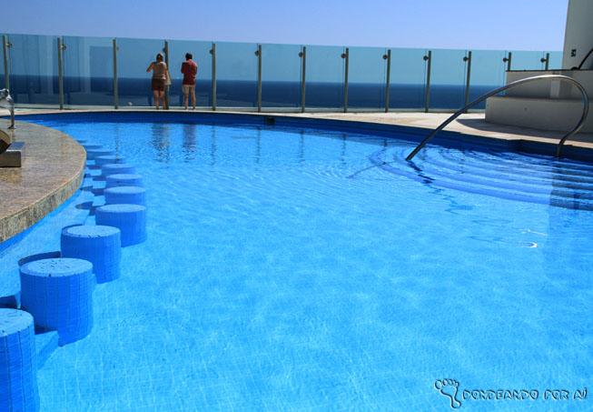 piscina com bar terraço cancun