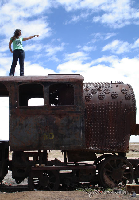 Cemitério de trens Bolívia 2