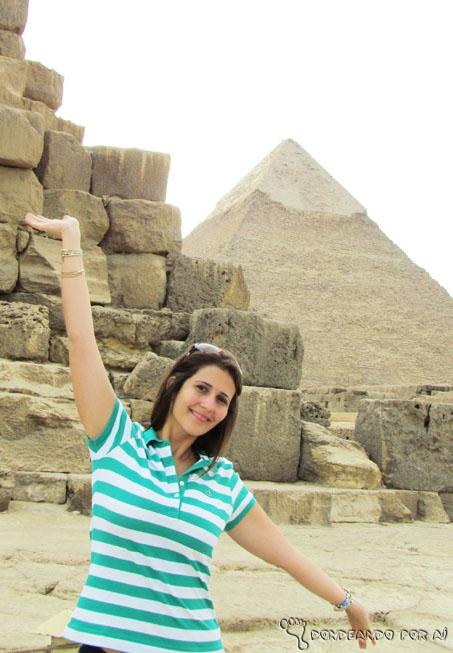 Eu no Egito