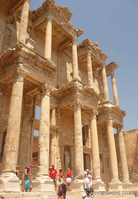Fachada da Biblioteca de Adriano