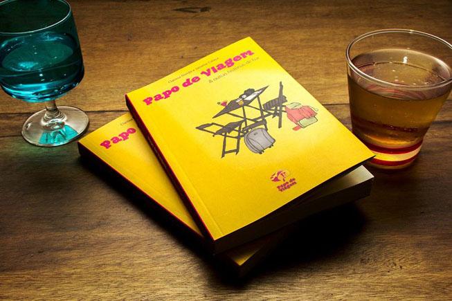 """Livro """"Papo de Viagem & Outras histórias de Bar"""". Crédito da foto: Erik Pzado"""