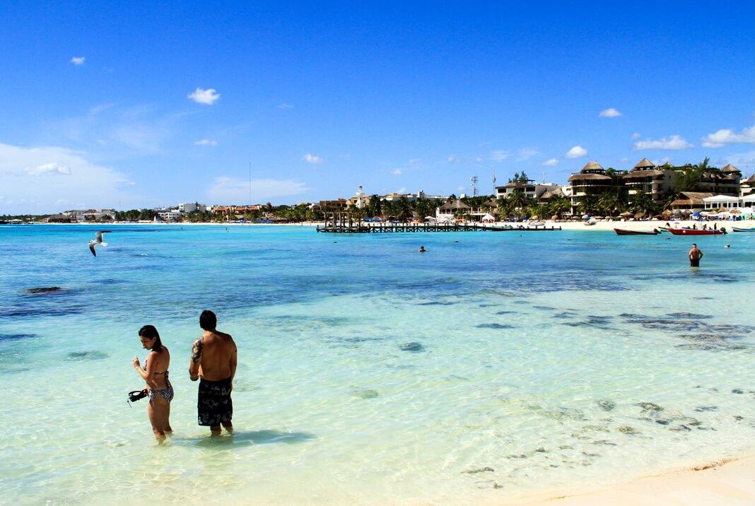 Playa del carmen header Mexico