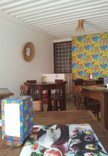 Arrecifes hostel - sala de refeições