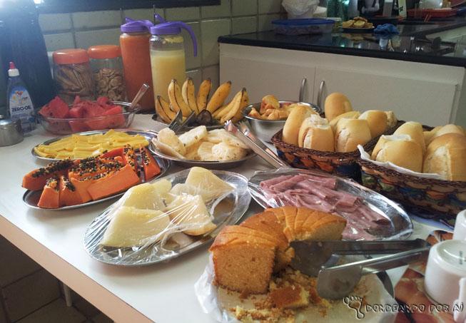 Café da manhã arrecifes hostel