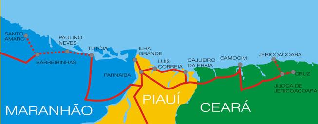 MAPA da ROTA DAS EMOÇÕES detalhado