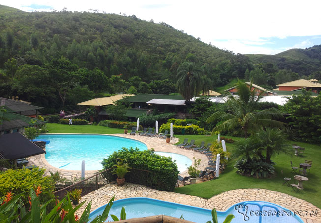 Vista hotel Parador Maritacas