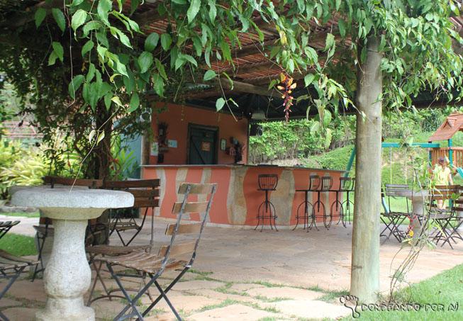 Bar da Piscina do Parador Maritacas