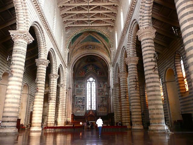 Catedral de Orvieto. Crédito da Foto: Henry Lawford (Creative Commons)