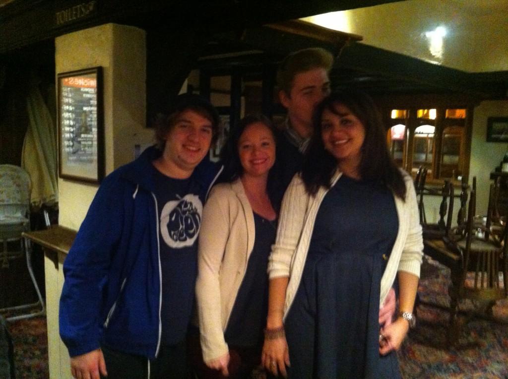 TLS - Com os amigos em Londres (2)