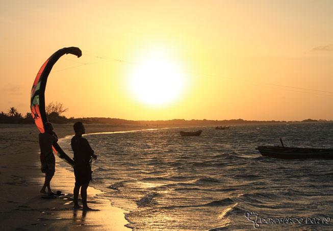Kite surf em Piauí - Barra grande