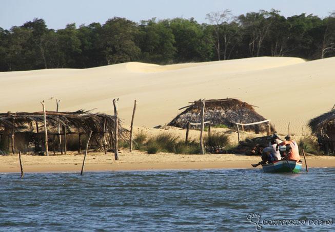 Pescadores no Rio Preguiças