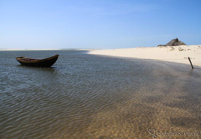 Rio preguiçasm em Caburé Maranhão