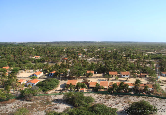 Vista Farol das Preguiças Maranhão