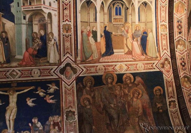 Afrescos da Basílica de Assis