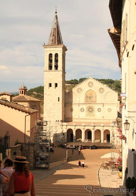 Catedral Spoleto praça central