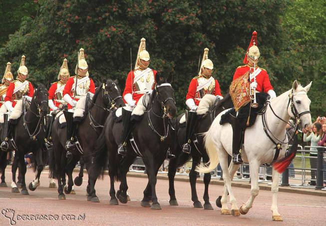 Cavalaria real da Troca da Guarda