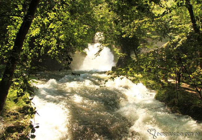 Rio Cachoera Della Marmore Terni Itália