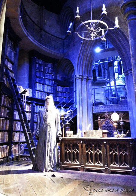 Sala dumbledore harry potter estudios warner bros londres