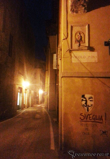 Street Art em Spoleto