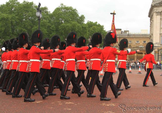 Troca da GUarda Palácio de Buckinham Londres