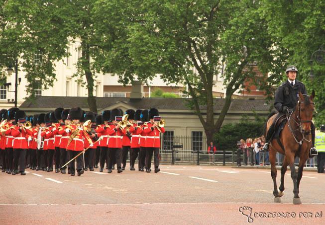 Troca da Guarda Beefeaters Palácio de Buckingham