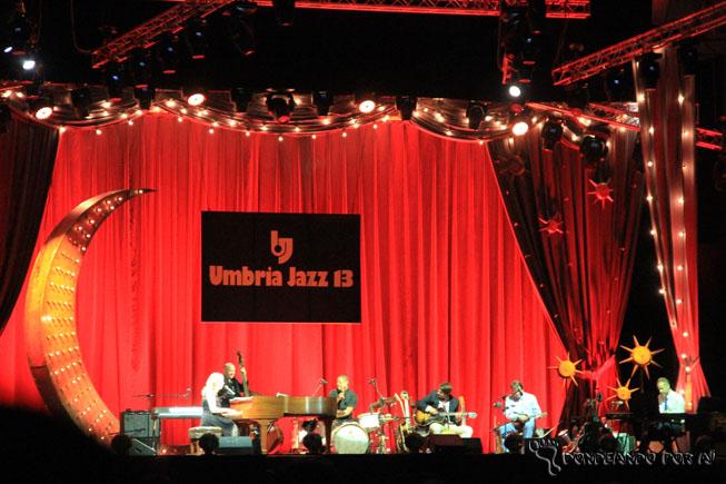 Umbria Jazz Palco com Diana Krall