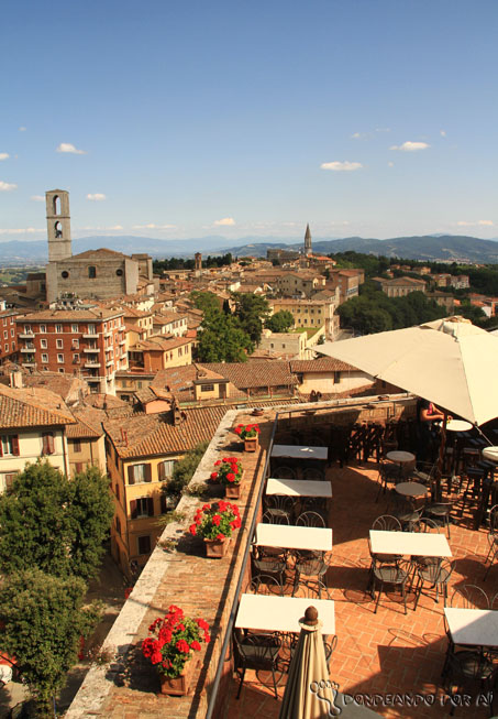 Vista de Perugia