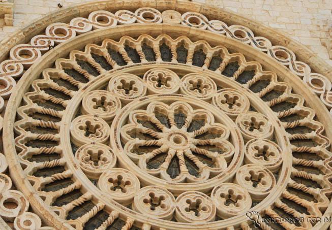 Vitral da Basílica de Assis