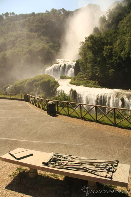 lorde Byron e a cascata Della Marmore Terni Itáilia