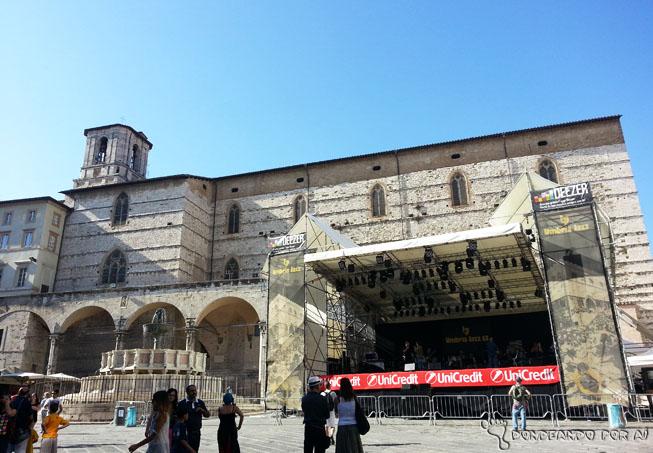 palcos Gratuitos da Umbria Jazz