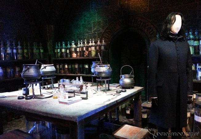 sala de poções estúdios harry potter londres