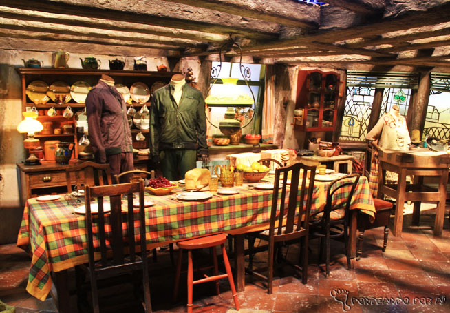 Casa da família Weasley Harry potter