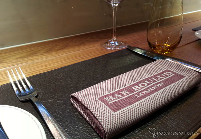 Bar Boulud Londres