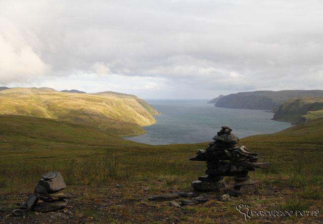Fiordes do Cabo norte Noruega